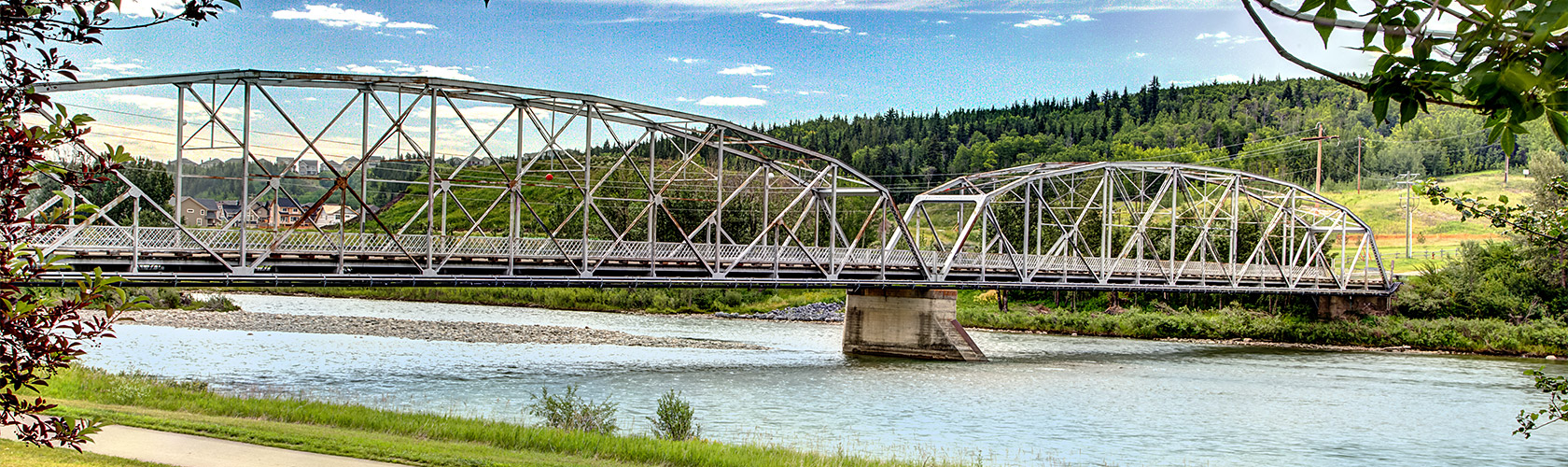 park view bridge Cochrane